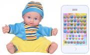 Tongde Интерактивная обучающая кукла Умняша с планшетом