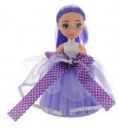 ABtoys Мини-кукла Сладкий сюрприз цвет фиолетовый