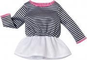 Barbie Одежда для кукол Платье цвет белый черный