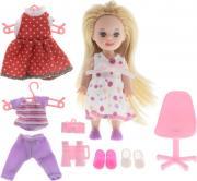 Defa Игровой набор с мини-куклой Happy Sairy Style