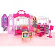 Кукла Mattel Barbie CFB65 Барби Переносной домик + Кукла