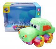 Мягкая игрушка Tongde машинка Радужный транспорт