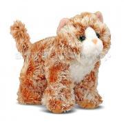 Мягкая игрушка Melissa & Doug Рыжий кот Трикси 13 см