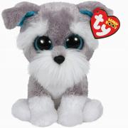 Beanie Boo's Мягкая игрушка Щенок Whiskers, 15 cm