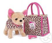 """Товар для детей Simba Плюшевая собачка Чихуахуа """"Лео"""" с сумочкой и..."""