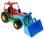 AVC Игрушка Трактор цвет красный голубой