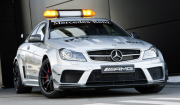 Schuco MB C63 AMG Coupe silver 1:43