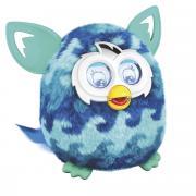 Furby (Фёрби) Boom Интерактивная игрушка Теплая волна (Рисунок голубая...