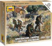 Звезда Сборная модель Британские саперы 1939-1942