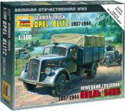 Звезда Сборная модель Немецкий грузовик Опель Блиц 1937-1944