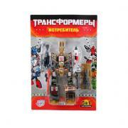 Трансформер 41*28 см. Joy Toy Истребитель
