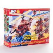 Машинка трансформер Voov 84367 Вув -G пожарно-спасательный...