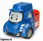 Silverlit Robocar Poli 83178 Робокар Пости Posty металлическая машинка...