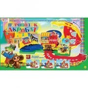 Играем вместе Железная дорога Паровозик-акробат