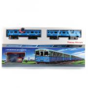 """Железная дорога """"Поезд Метро"""", со светом, звуком, длина 416 см, 25..."""