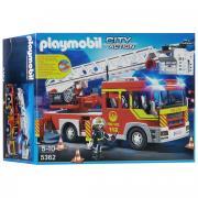 """Playmobil Игровой набор """"Пожарная машина с лестницей"""", со световыми и..."""