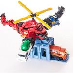 Игровой набор Voov пожарно-спасательный вертолет-трансформер (84367)