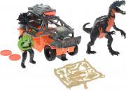 Chap Mei Игровой набор Динозавр Барионикс и охотник на джипе