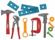 1TOY Набор инструментов Ну погоди цвет красный синий