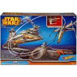 Игровой набор Mattel Hot wheels star wars битва с имперским крейсером...