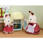 """Sylvanian Families Набор """"Мама кролик Сильвия и холодильник"""" 2202"""