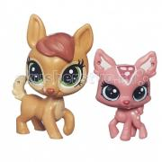 Littlest Pet Shop Daphne Deerheart с малышкой Fauna Deerheart