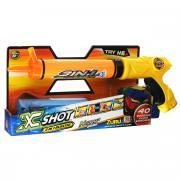 """Водное ружье Zuru """"X-Shot Hydro3"""", цвет: оранжевый, желтый"""