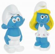 Играем вместе Набор игрушек для ванной Смурфики цвет голубой белый...
