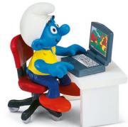 Игровая фигурка Schleich 40263 Гномик у компьютера