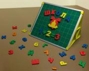 Magneticus Учебная доска с набором букв и цифр