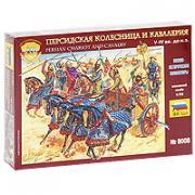 """Набор миниатюр """"Персидская колесница и кавалерия V-IV вв. до н.э."""""""