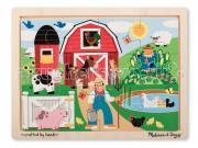 Деревянная игрушка Melissa & Doug Пазл Ферма
