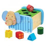 Деревянная игрушка I'm toy Сортер Слон