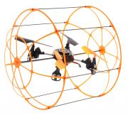 Junfa Toys Квадрокоптер на радиоуправлении Sky Walker цвет оранжевый