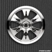 Диски колесные (Трак 1/8) - MAXXTM Velocity 6 / Zero off-set / Chrome...