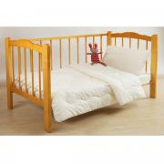 "Одеяло ""Fani/Фани"", 110 см х 140 см, цвет: белый"