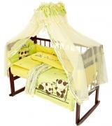 """Комплект для детской кроватки Мир детства """"Бамбуковая сказка"""", цвет:..."""