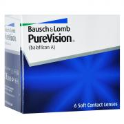 Bausch + Lomb контактные линзы PureVision (6шт / 8.6 / +4.00)