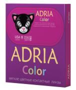 Adria Контактные линзы Color 1 tone / 2 шт / -0.50 / 8.6 / 14 / Green