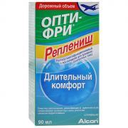 """Опти-Фри Раствор для контактных линз """"Реплениш"""", с контейнером, 90 мл"""
