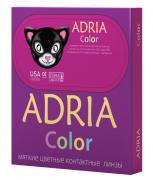 Adria Контактные линзы Color 1 tone / 2 шт / -1.00 / 8.6 / 14 / Green
