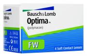 Bausch + Lomb контактные линзы Optima FW (4шт / 8.7 / -1.50)