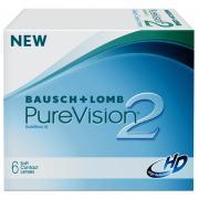 PureVision 2HD (6) Контактные линзы PureVision 2 HD R:=8.6 D:=-1,00...