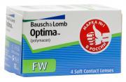 Bausch + Lomb контактные линзы Optima FW (4шт / 8.7 / -0.50)
