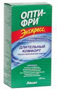 """Опти-Фри Раствор для контактных линз """"Экспресс"""", с контейнером, 120 мл"""