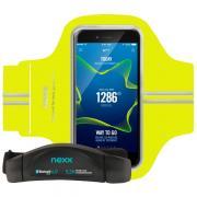 """Комплект из кардиодатчика и чехла для смартфонов """"Nexx"""", цвет: черный,..."""