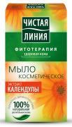 Чистая Линия Фитотерапия Твердое мыло Экстракт календулы 80 гр