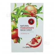 Маска THE SAEM Natural pomegranate mask sheet