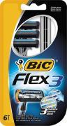 """Bic Бритва """"Flex3"""", бл.3 шт"""