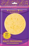 Victoria Shu Спонж для снятия макияжа из натуральной целлюлозы S106,...